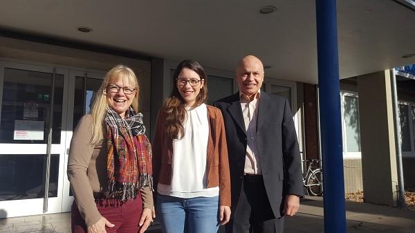 Romina Plonsker zu Besuch in der AHS